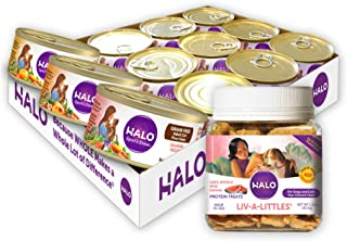 product image for Halo Liv-A-Littles Grain Free Natural Dog Treats & Cat Treats