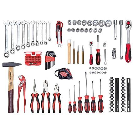 Gedore Red universal en todo en maletín de herramientas, 108 piezas ...