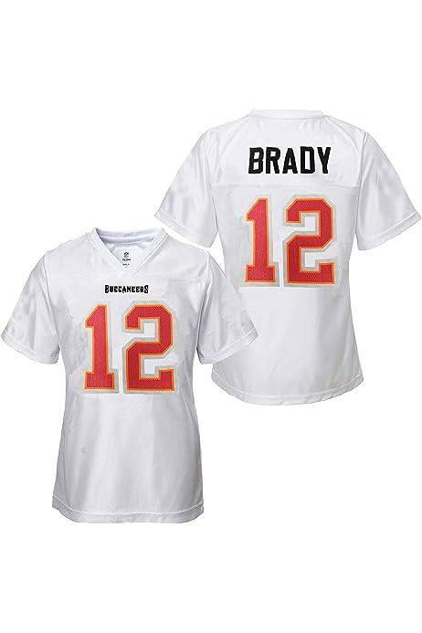 Tom Brady Tampa Bay Buccaneers #12 Youth Girls ... - Amazon.com