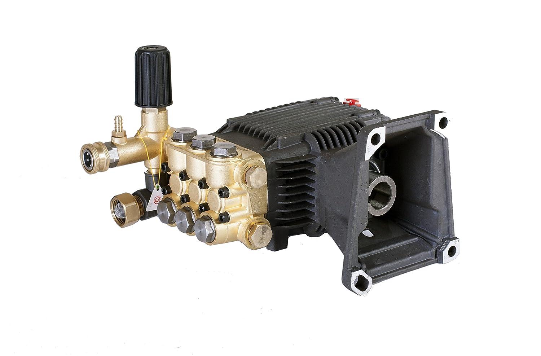 "CANPUMP Triplex High Pressure Power Washer Pump 4.7 GPM 3600 PSI 1"" Hollow Shaft fits Cat General AR"