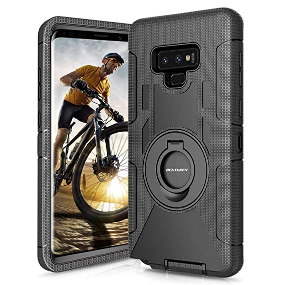 promo code 3db3f 46a25 Amazon.com: Galaxy Note 9 Case, BENTOBEN Samsung Note 9 Case Belt ...