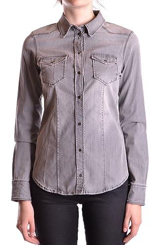 Liu Jo Mujer MCBI191327O Gris Otros Materiales Camisa