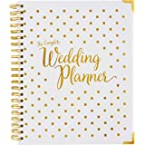 Wedding Planner & Organizer Gold Undated Bridal Diary Book Organizer - Hard Cover, Pockets & Online Support - Engagement…
