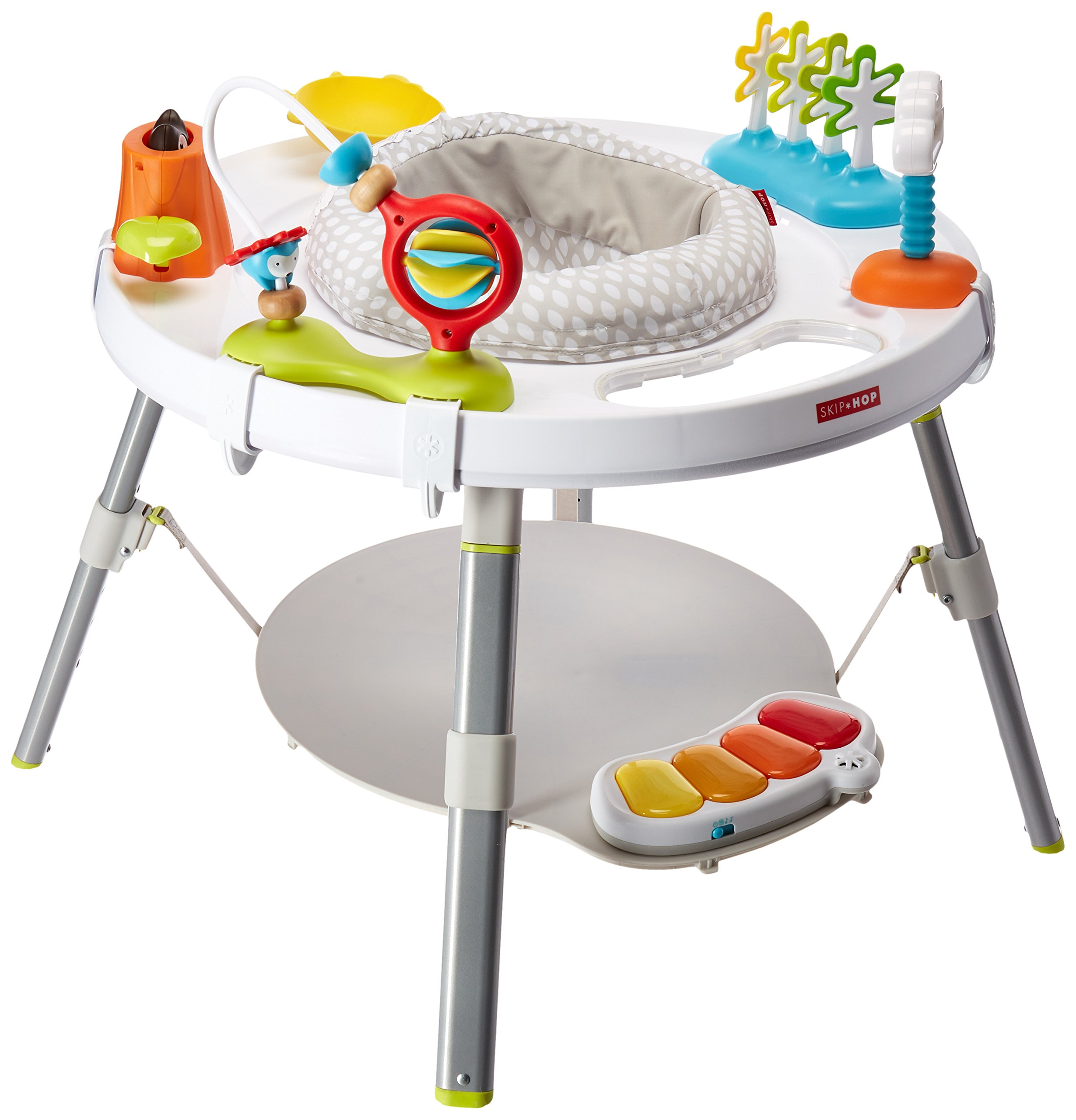 Skip Hop Explore and More Baby's View 3-Stage Interactive Activity Center, Multi-Color, 4 Months by Skip Hop