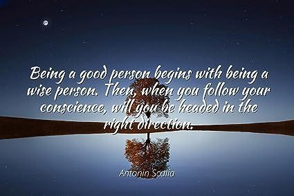 Amazoncom Antonin Scalia Famous Quotes Laminated Poster Print