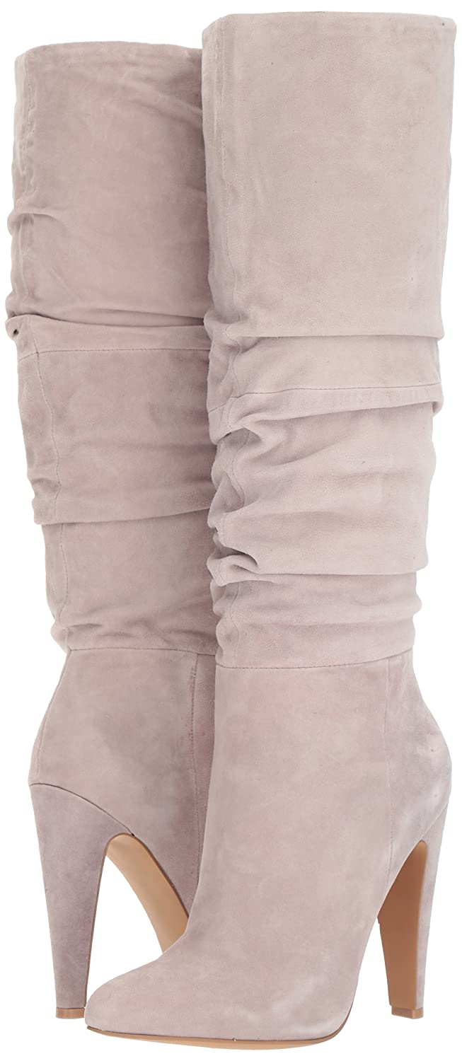Steve Madden Women's Carrie Fashion Boot B075Y8QZH5 6.5 B(M) US|Grey Suede