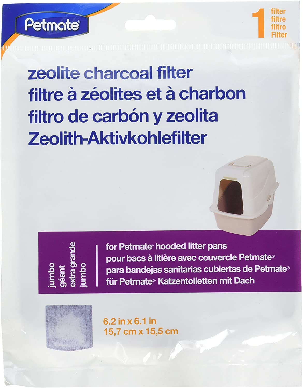 Petmate Zeolite Jumbo Hooded Litter Box Filters
