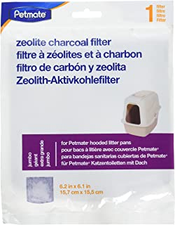 Petmate Zeolite Jumbo Hooded Litter Box Filters