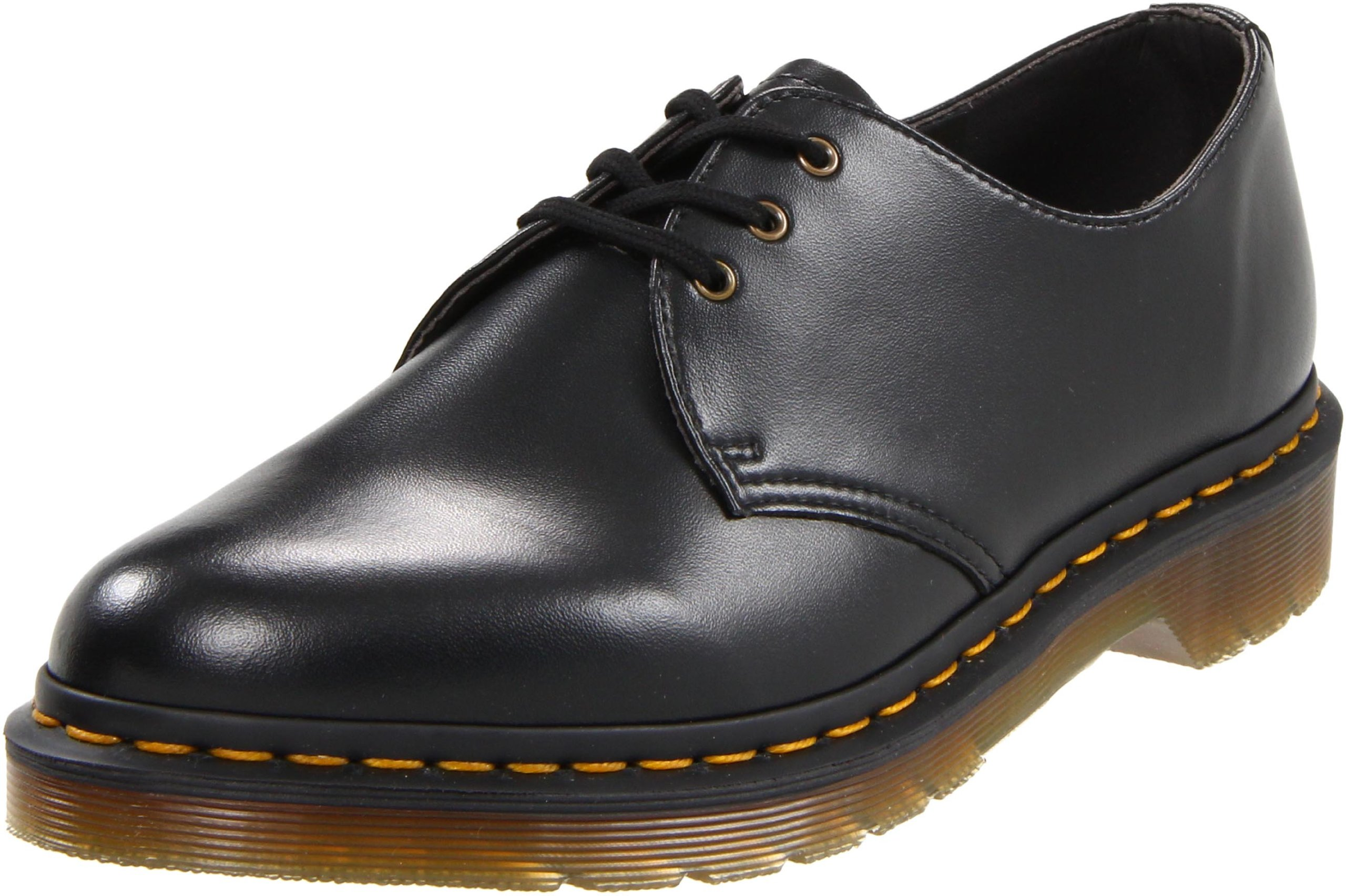 Dr. Martens Gibson 1461 Vegan Oxford,Black,5 UK (6 M US Men's/7 M US Women's)