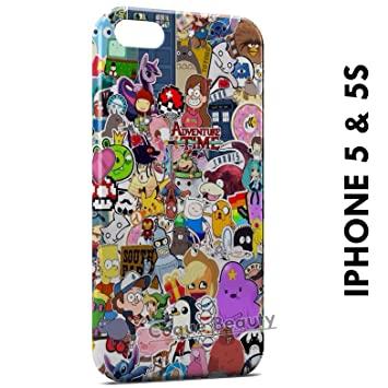 coque personnage iphone 5