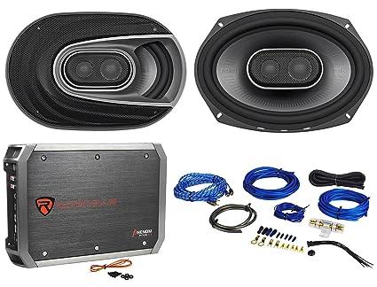 amazon com 2 polk audio mm692 6x9 900w 3 way car audio marine rh amazon com Polk Car Audio Amps Polk Audio PA880 Amp
