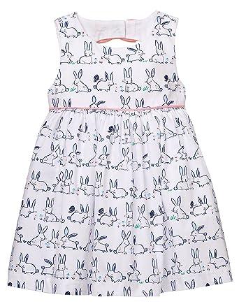 0ee41e884 Amazon.com: Gymboree Girls Sleeveless Bunny Print Dress: Clothing