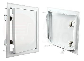 Revisionstür Revisionsklappe Tür   400 x 450mm weiss