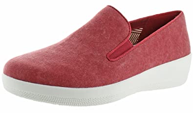 86f648406bbcb9 FitFlop Womens Superskate Slip On Loafer Shoes