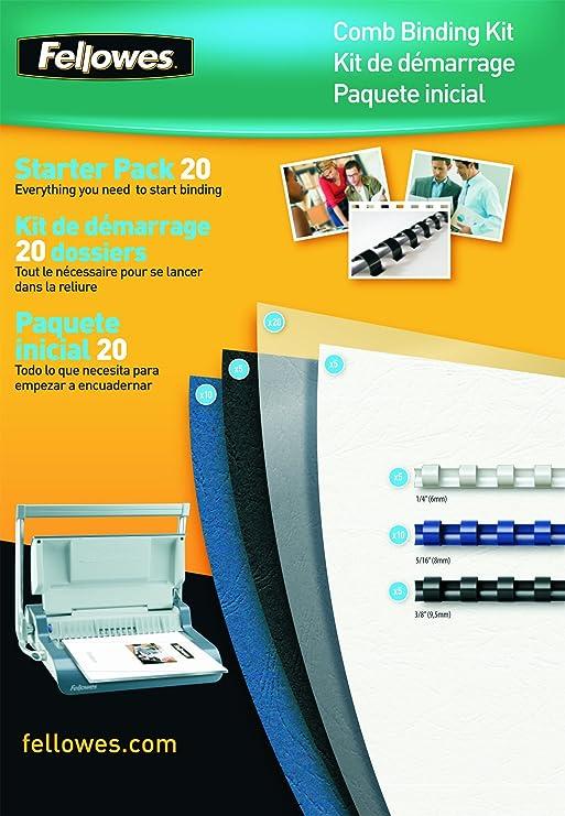 Fellowes 5371801 - Kit premium de encuadernación: Amazon.es: Oficina y papelería