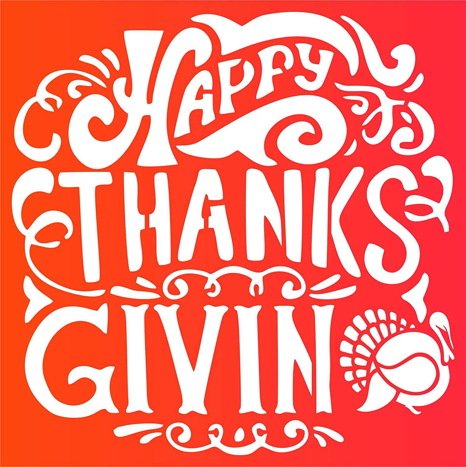 6in letters We Are Thankful in Cherokee Syllabary Cherokee Language Thanksgiving Sign Stencils Ship Free in lower 48 110lb Cardstock