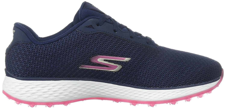 Skechers Women's Go Golf Birdie Golf Shoe B06XWWJMJK 9.5 W US Navy/Pink Mesh