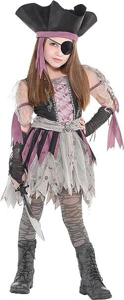 Amscan 9902460 disfraz niña Pirata encantado., 12 – 14 años ...