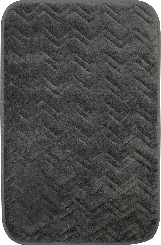 Home Dynamix Indulgence Zigzag Bath Mat, 17