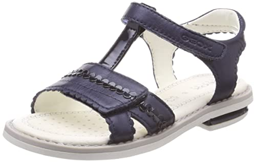 Niñas Sandal Con Geox Jr Para Giglio ASandalias Tira Vertical e9YEID2WHb