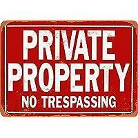 Hunnry Private Property No Trespassing Póster De Pared