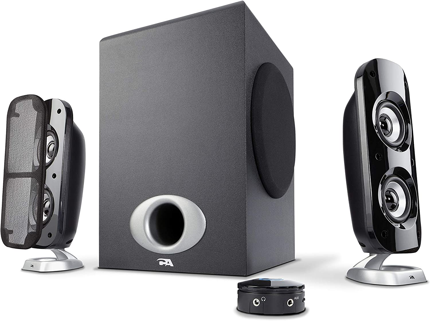 Great for and Cyber Acoustics 2.1 Subwoofer Speaker System with 18W of Power
