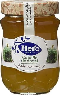 Hero Confitura Extra de Cabello de Ángel Todo Natural - Paquete de 8 x 345 gr
