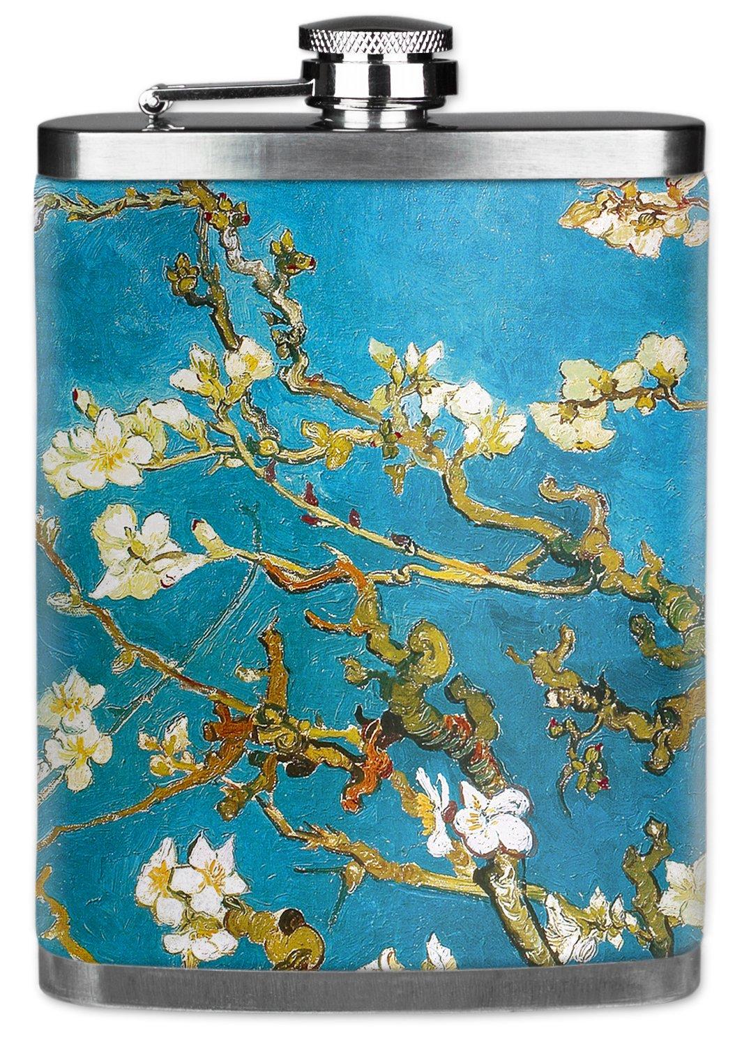 正規品販売! Mugzie ®ブランド7オンスヒップフラスコwith Insulatedウェットスーツカバー B01C5FWF2I – Van Gogh : Gogh Almond Blossoms Almond B01C5FWF2I, アテックスダイレクト:20d1bf0d --- sww.zlatarezerva.cz