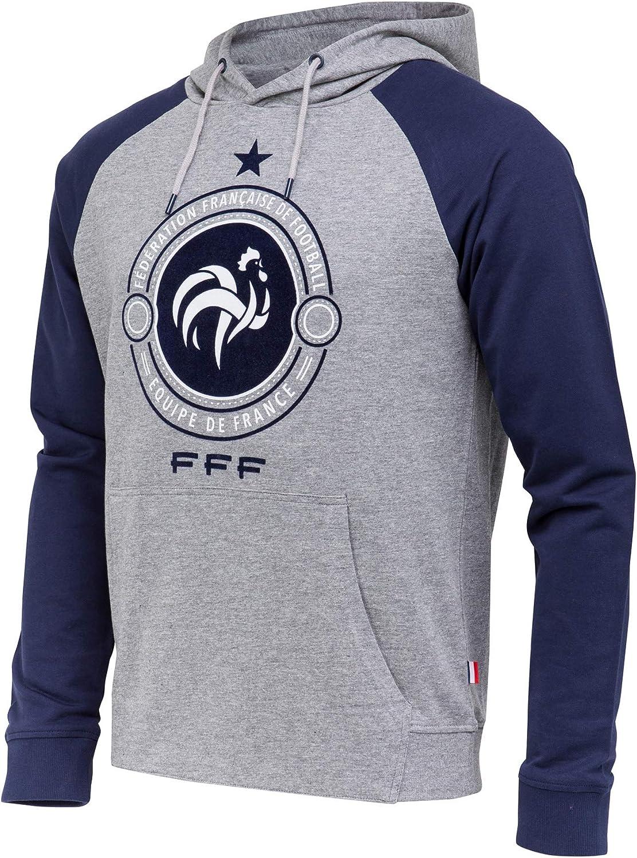 Sudadera con capucha de la selección francesa de fútbol FFF, colección oficial, talla XL: Amazon.es: Ropa y accesorios