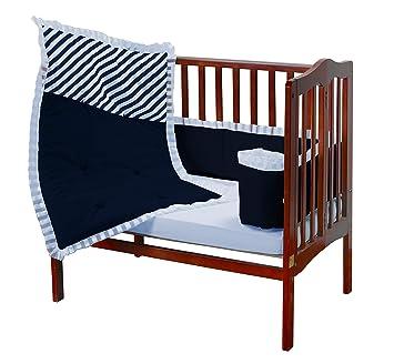 Baby Doll Unique Crib Bedding Set Grey