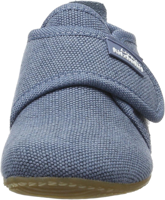 Living Kitzb/ühel Unisexe B/éb/é Velcro Chaussures Couleur Unie Bambins et Pantoufles