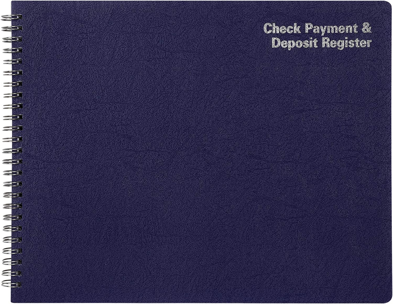 "Adams Check Payment and Deposit Register, 8-1/2"" x 11"", 44 Pages (AFR60), White : Large Check Register : Office Products"