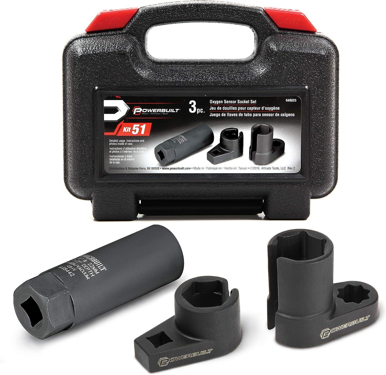 Tools & Equipment 10 Piece O2 Sensor Socket Set Oxygen Sensor ...