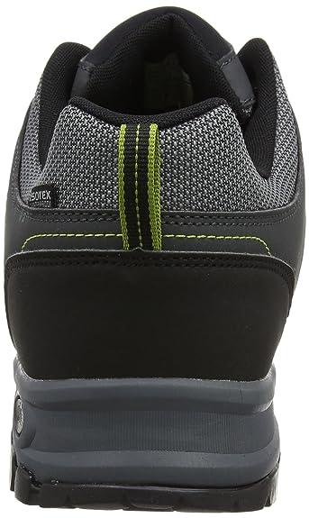 Burrell II, Chaussures de Randonnée Hautes Homme, Noir (Black/Granit 9V8), 45 EURegatta