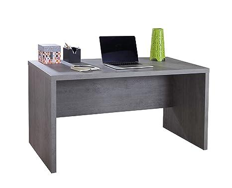 Scrivania Ufficio Grigio : Avanti trendstore pratico scrivania in laminato di colore grigio
