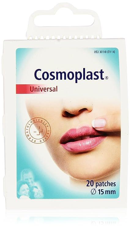 Cosmoplast Parches Herpes Labial - 20 Unidades: Amazon.es: Belleza
