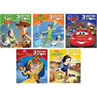 Small Saddle Stitch Book 5-Book Set Disney 3-Minute Bedtime Stories 9781450863117