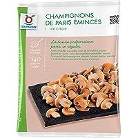 Champignons de Paris surgelés émincés 1er choix - 1 kg