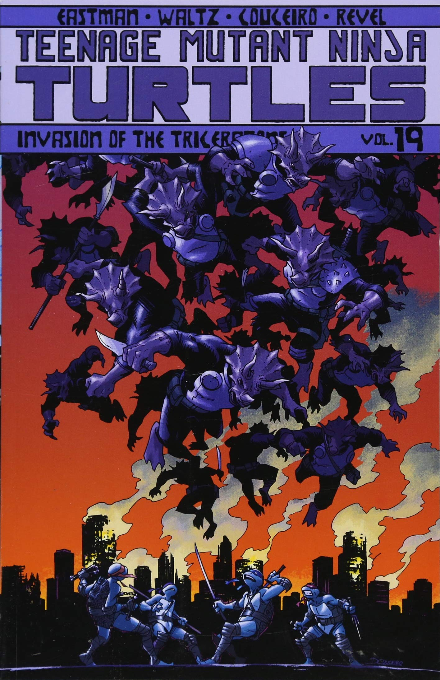 Teenage Mutant Ninja Turtles Volume 19: Invasion of the ...