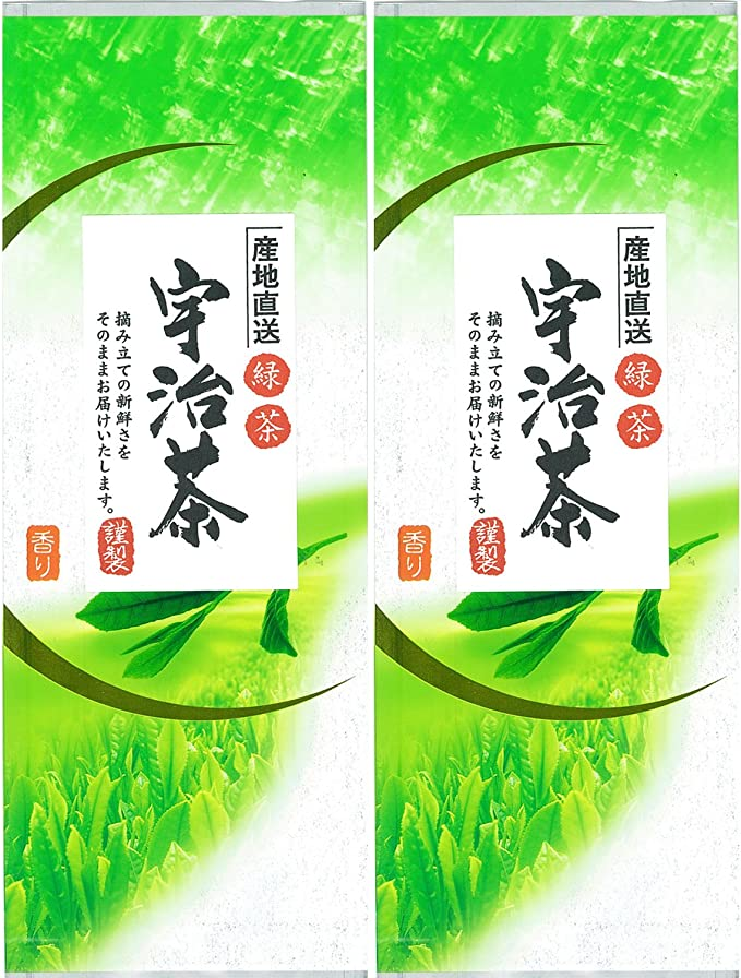 お茶の丸幸 産地直送緑茶 宇治茶 120g×2個
