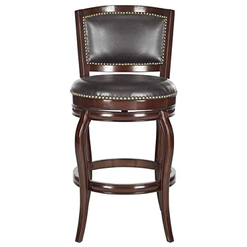 Safavieh Home Collection Pasquale Sierra Brown 29-inch Bar Stool