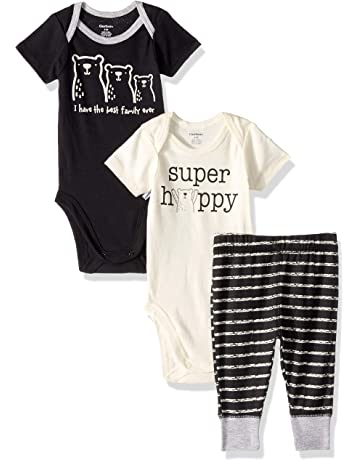 d3fc41766 Gerber Baby Boys' 3-Piece Onesies Bodysuits and Pant Set