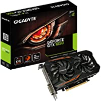 Gigabyte GeForce GTX 1050–Tarjeta gráfica (GV-N1050OC-2GD), Boost Clock 1518 MHz, 2 GB Windforce