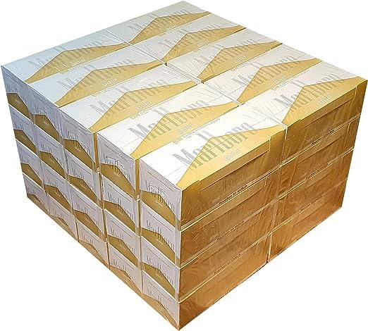 Compra Marlboro Caja de cartón con 10000 Gold Extra (40 x 250 ...