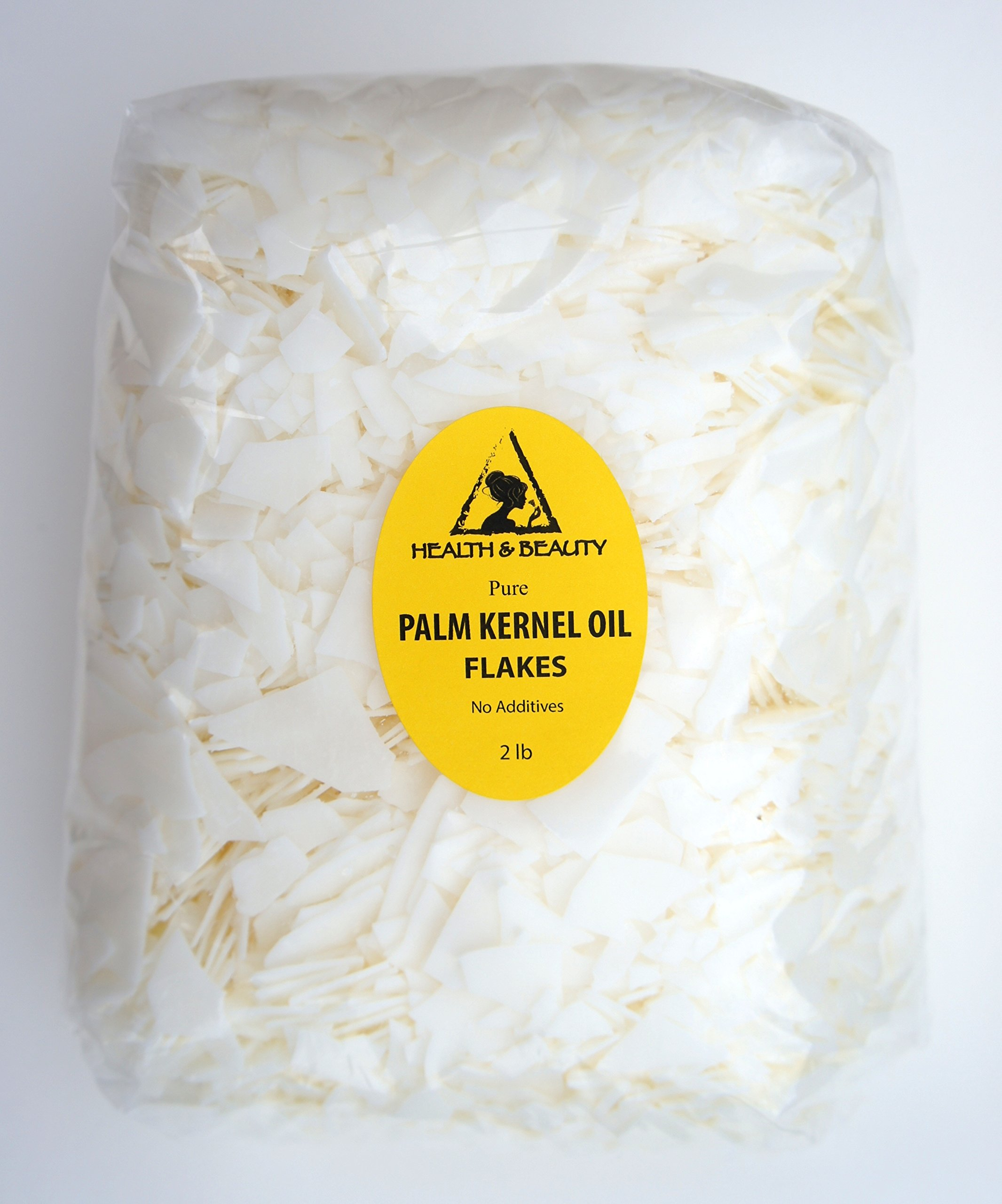Palm Kernel Oil Flakes Organic Pure Natural for Soaps Cosmetics 32 oz, 2 LB