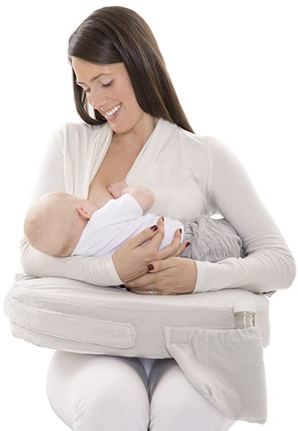 Amazon.com: My Brest Friend Deluxe - Almohada de lactancia: Baby