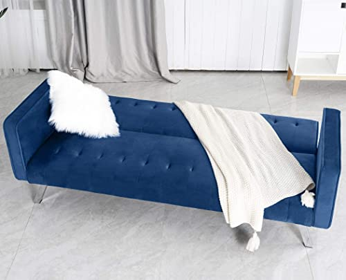 GOOD GRACIOUS Modern Couch Bed Sleeper Loveseat