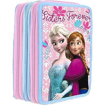 Disney DI1486 - Frozen Plumier Triple