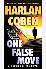 One False Move: A Myron Bolitar Novel Kindle Edition
