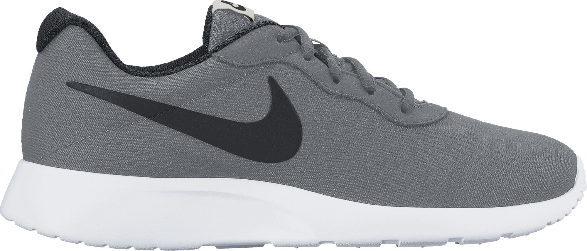 NIKE Men's Tanjun Premium, Grey Black White Light Bone, 10 D-Medium by NIKE